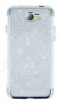General Mobile GM6 Simli Silver Silikon Kılıf