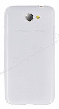 General Mobile GM6 Ultra İnce Şeffaf Silikon Kılıf
