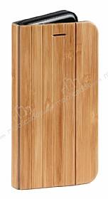 GOODEA iPhone 6 Plus / 6S Plus Doğal Bambu Kapaklı Kılıf