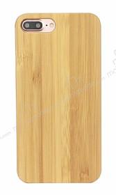 GOODEA iPhone 7 Plus / 8 Plus Doğal Bambu Kılıf