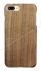 GOODEA iPhone 7 Plus / 8 Plus Ultra Thin Darkwood Ahşap Kılıf
