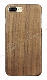 GOODEA iPhone 7 Plus Ultra Thin Darkwood Ahşap Kılıf