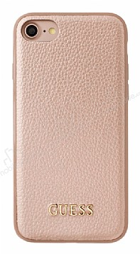Guess iPhone 7 / 8 Rose Gold Deri Kılıf