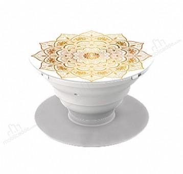HandSockets Gold Floral Telefon Tutucu ve Stand