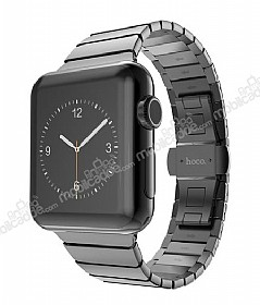 Hoco Apple Watch Link Bracelet Dark Silver Metal Kordon (42 mm)