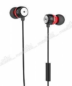Hoco EPM01 Premium Mikrofonlu Kulakiçi Kırmızı Kulaklık