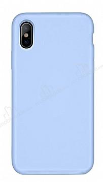 Hoco Original Series iPhone X / XS Mavi Silikon Kılıf