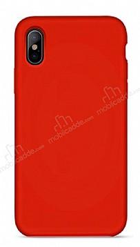 Hoco Original Series iPhone X / XS Kırmızı Silikon Kılıf