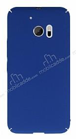 HTC 10 Tam Kenar Koruma Lacivert Rubber Kılıf