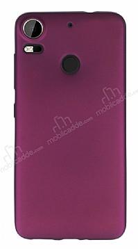 HTC Desire 10 Pro Mat Mürdüm Silikon Kılıf