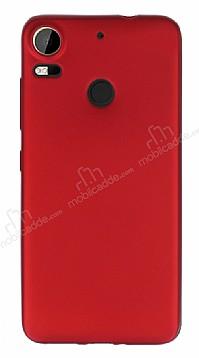 HTC Desire 10 Pro Mat Kırmızı Silikon Kılıf