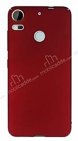 HTC Desire 10 Pro Tam Kenar Koruma Bordo Rubber Kılıf