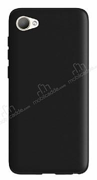 HTC Desire 12 Mat Siyah Silikon Kılıf