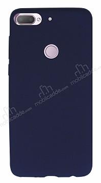HTC Desire 12 Plus Mat Lacivert Silikon Kılıf