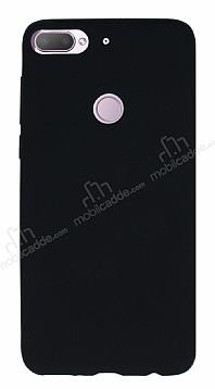 HTC Desire 12 Plus Mat Siyah Silikon Kılıf