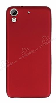 HTC Desire 626 Mat Kırmızı Silikon Kılıf