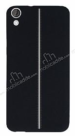 HTC Desire 820 Kadife Dokulu Siyah Silikon Kılıf