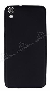 HTC Desire 820 Mat Siyah Silikon Kılıf