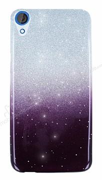 HTC Desire 820 Simli Siyah Silikon Kılıf
