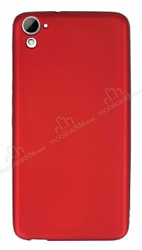HTC Desire 826 Mat Kırmızı Silikon Kılıf