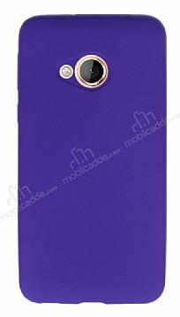 HTC U Play Mat Mor Silikon Kılıf
