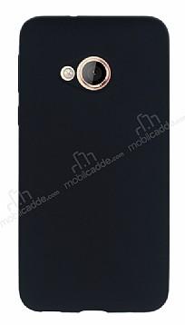 HTC U Play Mat Siyah Silikon Kılıf