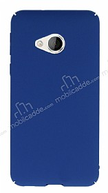 HTC U Play Tam Kenar Koruma Lacivert Rubber Kılıf