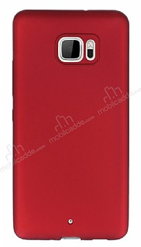 HTC U Ultra Mat Kırmızı Silikon Kılıf