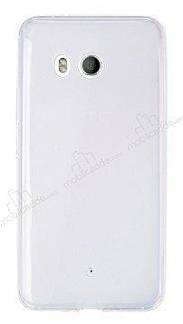 HTC U11 Ultra İnce Şeffaf Silikon Kılıf