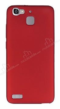 Huawei GR3 Mat Kırmızı Silikon Kılıf