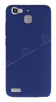 Huawei GR3 Mat Lacivert Silikon Kılıf