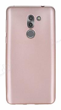 Huawei GR5 2017 Mat Rose Gold Silikon Kılıf