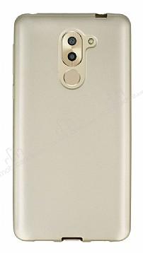 Huawei GR5 2017 Mat Gold Silikon Kılıf