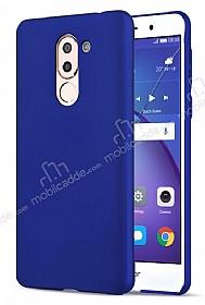 Huawei GR5 2017 Tam Kenar Koruma Lacivert Rubber Kılıf