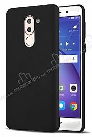 Huawei GR5 2017 Tam Kenar Koruma Siyah Rubber Kılıf