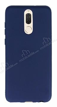 Huawei Mate 10 Lite Mat Lacivert Silikon Kılıf