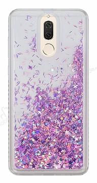 Huawei Mate 10 Lite Simli Sulu Pembe Rubber Kılıf