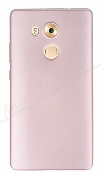 Huawei Mate 8 Mat Rose Gold Silikon Kılıf