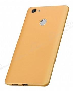 Huawei Nova Mat Gold Silikon Kılıf