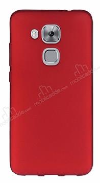 Huawei Nova Plus Mat Kırmızı Silikon Kılıf