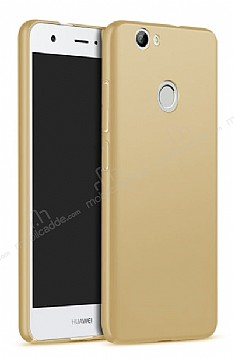 Huawei Nova Tam Kenar Koruma Gold Rubber Kılıf