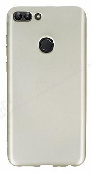 Huawei P Smart Mat Gold Silikon Kılıf