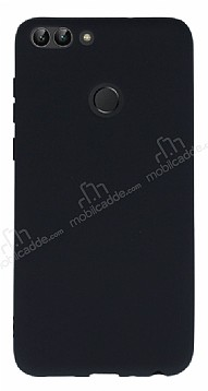 Huawei P Smart Mat Siyah Silikon Kılıf