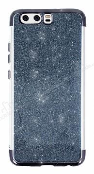 Huawei P10 Simli Siyah Silikon Kılıf