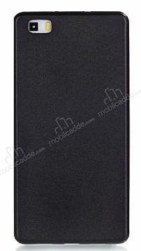 Huawei P8 Lite Mat Siyah Silikon Kılıf