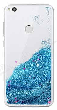 Huawei P9 Lite 2017 Sulu Mavi Rubber Kılıf