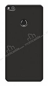 Huawei P9 Lite 2017 Tam Kenar Koruma Siyah Rubber Kılıf
