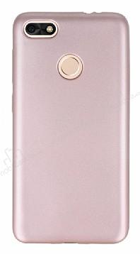 Huawei P9 Lite Mini Mat Rose Gold Silikon Kılıf