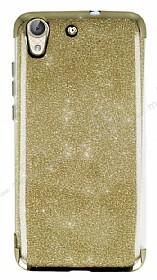Huawei Y6 ii Simli Gold Silikon Kılıf