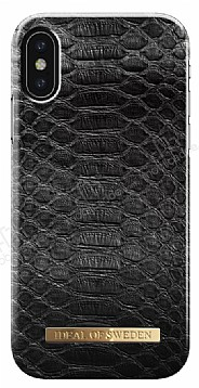 iDeal of Sweden iPhone X Black Reptile Kılıf